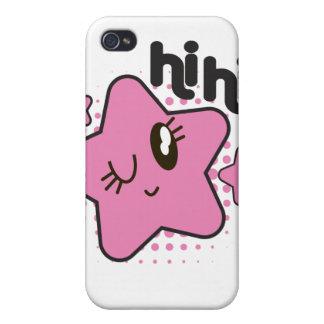 Winki Star Hi Hi iPhone 4 Case