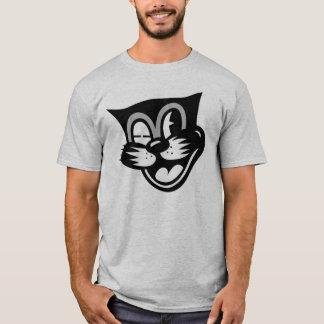 Winking Black Cat T-Shirt