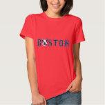 Winking Boston Terrier - Boston Red Sox Tshirts