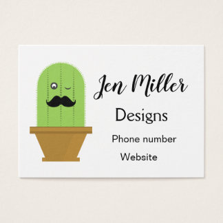 Winking Cactus Business Cards