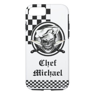 Winking Chef Skull iPhone 7 Case