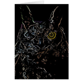 Winking Owl Card