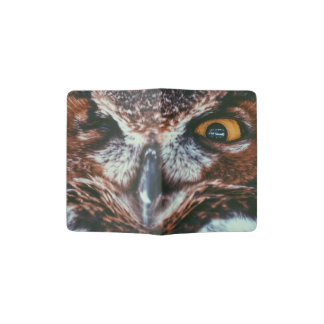 WINKING OWL PASSPORT HOLDER