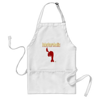 Winking Red Lobster Lobsteroholic Standard Apron
