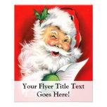 Winking Santa 11.5 Cm X 14 Cm Flyer