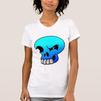 Winking Skull Devil Blue T-Shirt