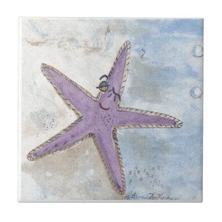 Winking Starfish Tile