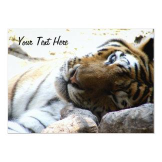 Winking Tiger Card