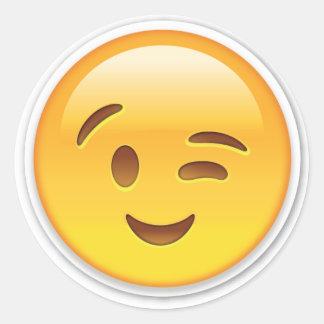 Winky Emoji Sticker