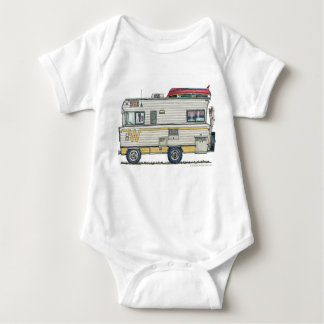 Winnebago Camper RV Apparel Baby Bodysuit