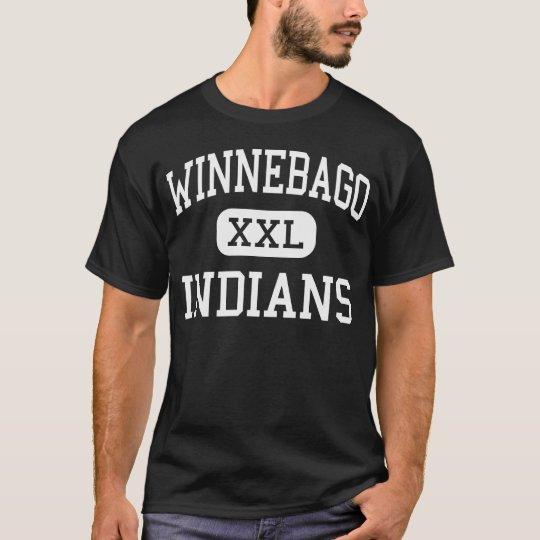 Winnebago - Indians - High - Winnebago Illinois T-Shirt