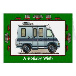 Winnebago Lasharo Camper RV Holiday Wish Cards