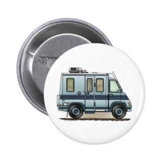 Winnebago LeSharo Camper RV 6 Cm Round Badge