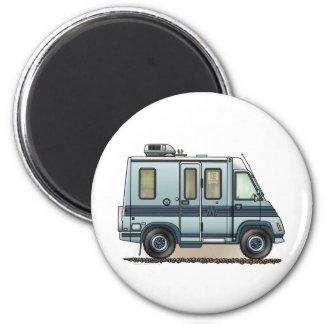 Winnebago LeSharo Camper RV 6 Cm Round Magnet