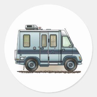 Winnebago LeSharo Camper RV Classic Round Sticker
