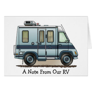 Winnebago LeSharo Camper RV Greeting Card