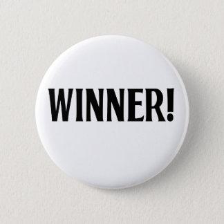 Winner! 6 Cm Round Badge