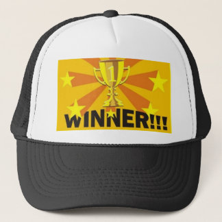 winner, CMB Trucker Hat