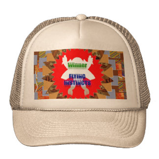 WINNER Flying Instincts : Excel Congratulations Trucker Hat