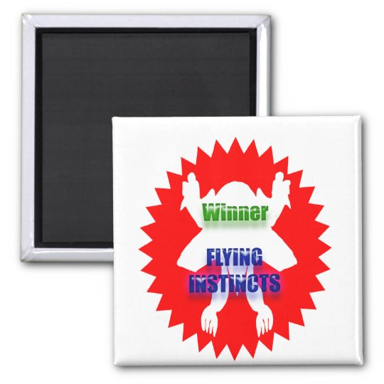 WINNER - Flying Instincts Magnet
