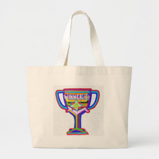 WINNER: Hand crafted Trophy: Encourage Excellence Canvas Bag