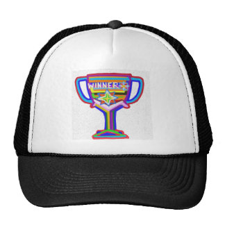 WINNER: Hand crafted Trophy: Encourage Excellence Trucker Hat