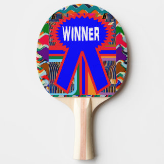 WINNER Red Rubber Back Ping Pong Paddle