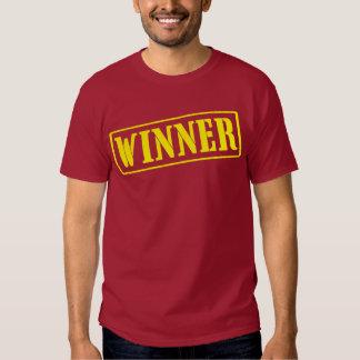 Winner (stamped) tees
