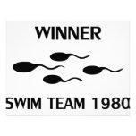 winner swim team 1980 icon invite