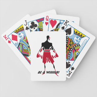 WINNER - victory bicycle playing cards