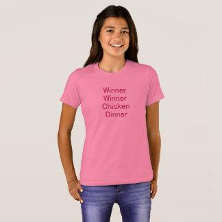 Winner Winner Chicken Dinner Girl's T-Shirt