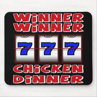 WINNER WINNER CHICKEN DINNER MOUSE MAT