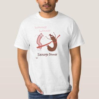 Winner Winner Sausage Dinner T-Shirt