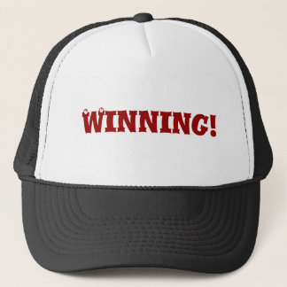 Winner winner trucker hat