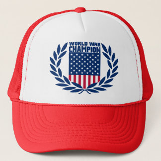 Winner's Crown - World War Champion Hat