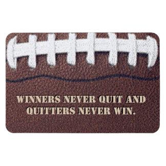 Winners Never Quit Magnet