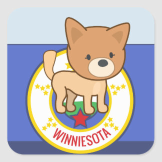 Winniesota Stickers