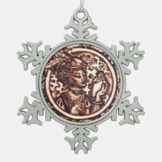 Winnifred Steampunk Snowflake Ornament