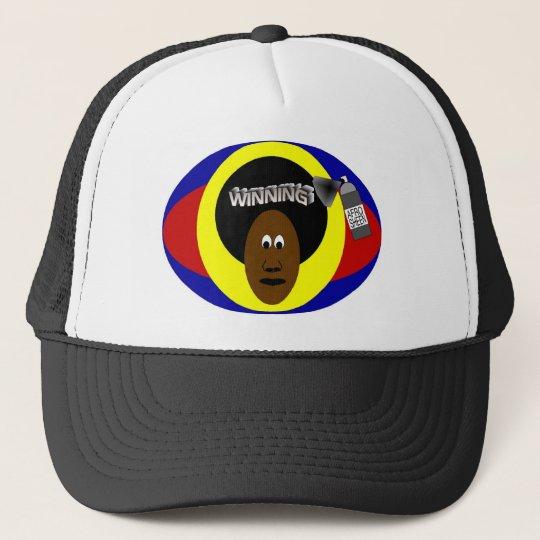 Winning AfroSheen Cap