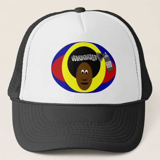 Winning AfroSheen Trucker Hat