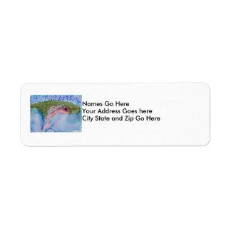 Winning Art By A. Fletcher Grade 11 Return Address Label