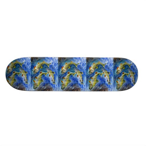 Winning Art By A. Gavurin Grade 6 Skate Board Decks