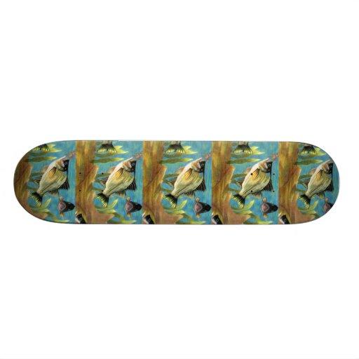 Winning art by  A. Johnese - Grade 8 Skateboard Decks
