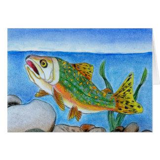 Winning Art By A. Lee Grade 4 Greeting Card