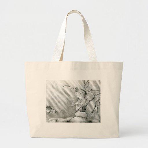 Winning art by  A. Steiger - Grade 10 Jumbo Tote Bag
