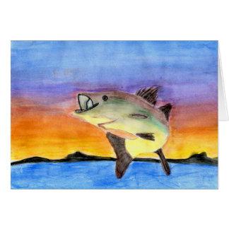Winning Art By C. Dahlen Grade 6 Greeting Card