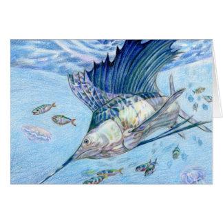 Winning art by  C. Huang - Grade 10 Greeting Card