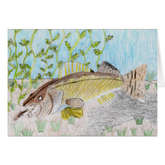 Winning Art By C. Olson Grade 6 Greeting Card