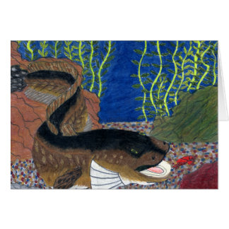 Winning art by  C. Olson - Grade 7 Greeting Card