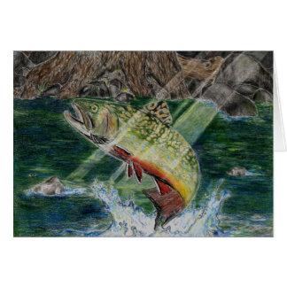 Winning Art By D. Boller Grade 7 Greeting Card